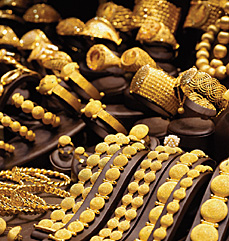 Gold jewellery [photo]