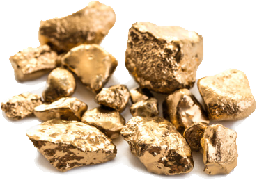 Gold nuggets [photo]
